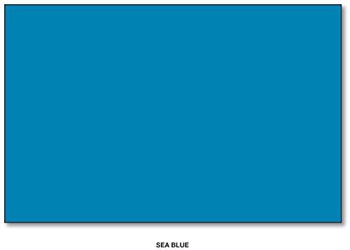 Sea Blue -,Bright Color Card Stock Paper, 11″x 17″, 50 Sheets