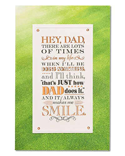 American Greetings Proud Father's Day Card from Son with
