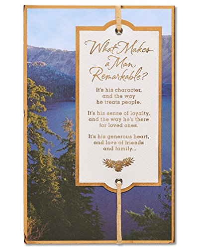 American Greetings Remarkable Father's Day Card with Foil 5873404