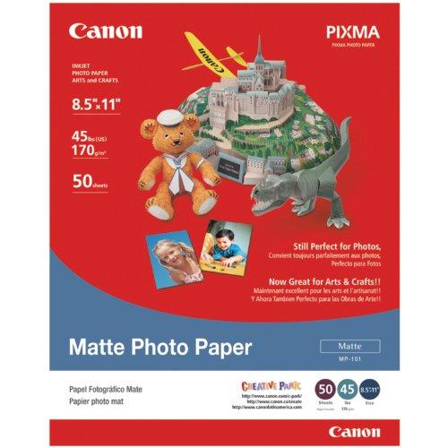 Canon Matte Paper, Letter Size, 50 Sheets
