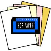 125 Sets of 4 Part Letter Size Straight Collated NCR Paper – 01924, Appleton