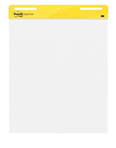 Post-it Self-Stick Easel Pad, 25 x 30.5 Inches, 30-Sheet Pad 2 Pack