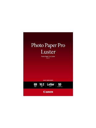 Canon Luster Photo Paper Letter, 50 Sheets LU-101 LTR