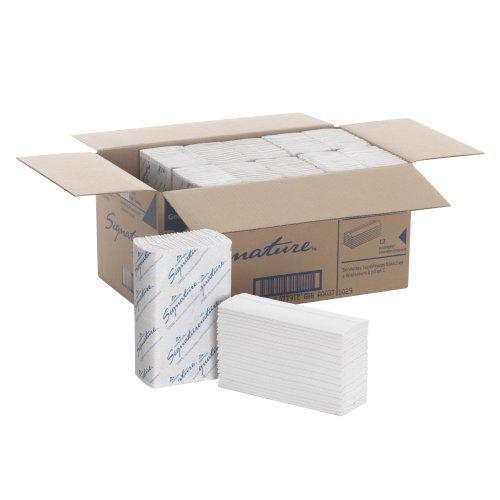 Georgia Pacific Professional 23000 C-Fold Paper Towels, 10 1/10 x 13 1/5, White, 120 Per Pack Case of 12 Packs