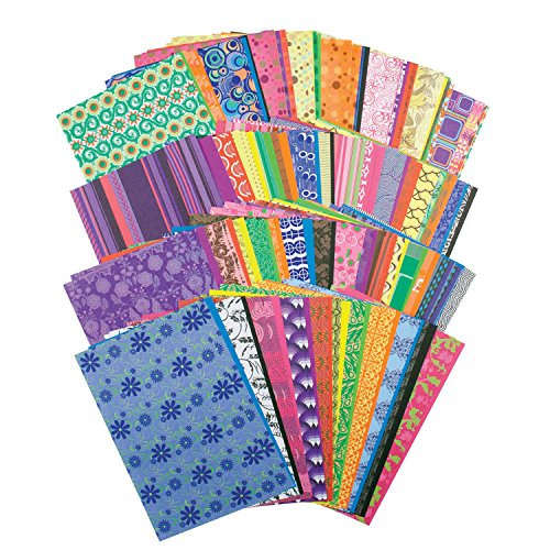 ROYLCO INC. R15203 Decorative Hues Paper Pack of 192
