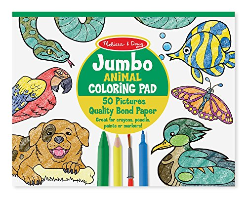 Animals – Melissa & Doug Jumbo Coloring Pad