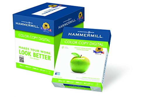 Hammermill Color Copy Digital Poly Wrap, 8.5×11 Letter, 1800 Sheets