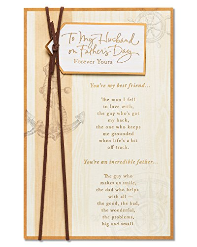American Greetings Forever Yours Father's Day Card for Husband with Foil 5873441