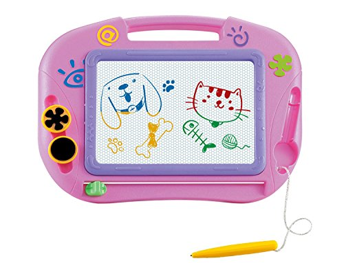 Gift for Little Girls Kids Children Travel Size – Magnetic Drawing Board For Kids- Erasable Colorful Magna Doodle Drawing Board Toys for Kids Writing Sketching Pad