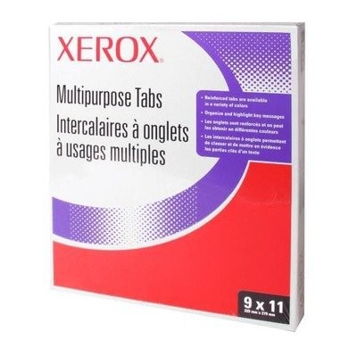 XER3R4417 – Xerox Single Straight Collated Index Dividers