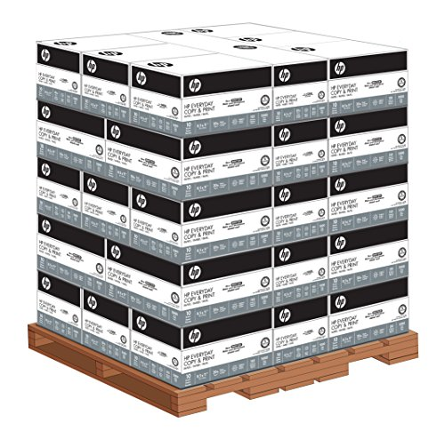 1 Pallet 200060P – HP Paper, Everyday Copy and Print 20lb, 8.5″ x 11″, Letter, 92 Bright, 200,000 Sheets/40 – 10 Ream cases