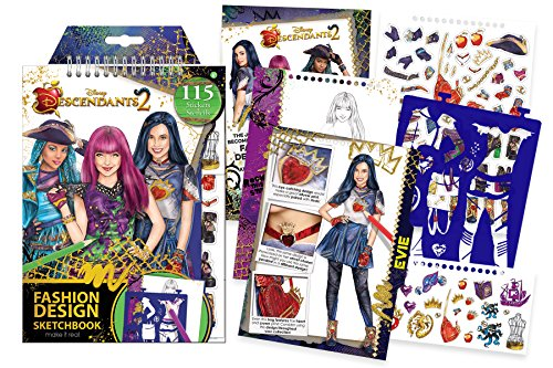 Descendants 2 Coloring Book A Wickedly Cool For Kids