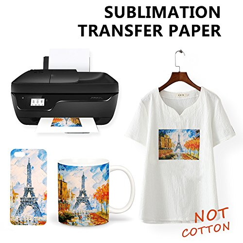RUSPEPA A4 Dye Sublimation Paper For Ricoh/Epson Printer, 11 69″ x