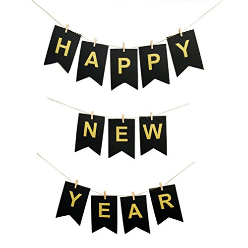 create special and innovative party banners happy new year print banner makes it perfect for new year or christmas party it can add fun and festive