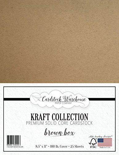 Kraft Speckletone Recycled Cardstock 85 X 11 Premium 80 Lb