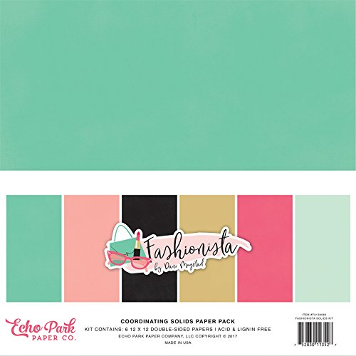 Echo Park Paper Company Fashionista Collection Kit – SmoothRise