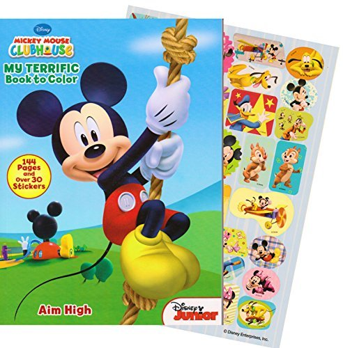 Officially Licensed Disney Mickey Mouse Toys And Games Product Delight Your Clubhouse Fan With This Coloring Activity Book