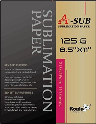 "A-SUB Sublimation Paper 11""x17"" 'For EPSON ME Series,RICOH"