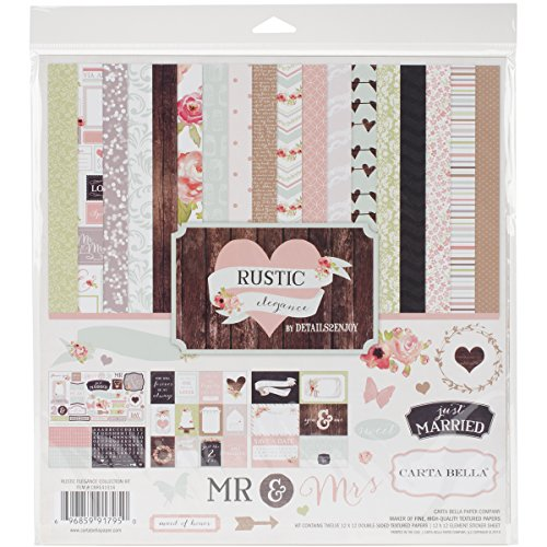 Echo Park Paper Company Wedding Bliss Collection Kit – SmoothRise