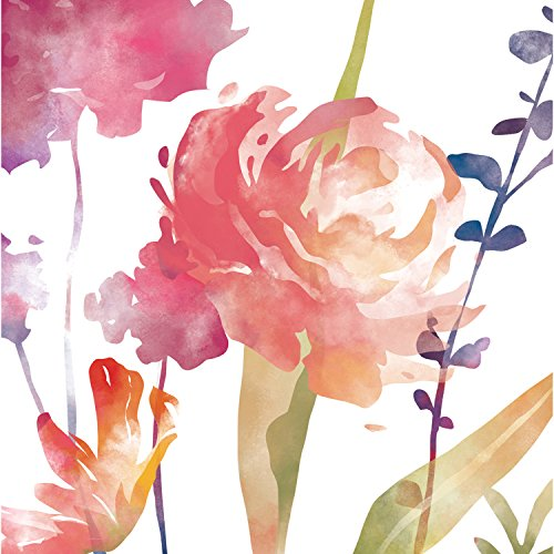 Cypress home boho watercolor floral paper luncheon napkins 20 count accent the decor at your next holiday gathering or party with these napkins paper napkins 3 ply construction made of recycled paper materials mightylinksfo