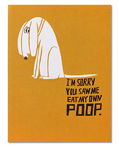 5856742 American Greetings Funny Poop Birthday Card From Dog