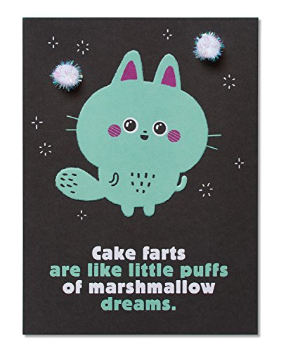 American Greetings Funny This Cat Birthday Card With Embossing