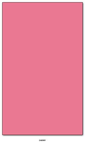 Color Paper 20lb. Size 8.5 X 14 Legal / Menu Size 50 Per Pack – Cherry
