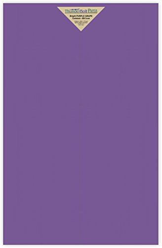65Cover/45Bond Light Weight Card Stock – 25 Bright Purple Grape 65# Cardstock Paper 12″ X 18″ 12X18 Inches Large|Poster Size – Bright Printable Smooth Paper Surface