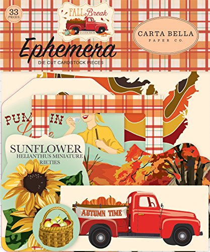 Carta Bella Paper Company CBFA88016 Fall Break Collection Kit