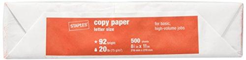 Staples Poly Wrapped Multipurpose Printer Paper, White