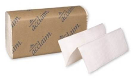 Multifold Acclaim Towels, 9-1/4 quot;x9-1/2 quot, 4000/CT, White