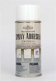 Stencil Ease Repositionable Stencil Spray Adhesive – 4.4 oz. can