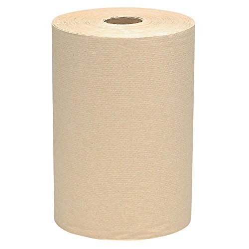 """Scott Essential Hard Roll Paper Towels 32848, 1-Ply, Natural, 2.0"""" Core, 800′ / Roll, 6 Rolls / Case, 4,800' / Case"""