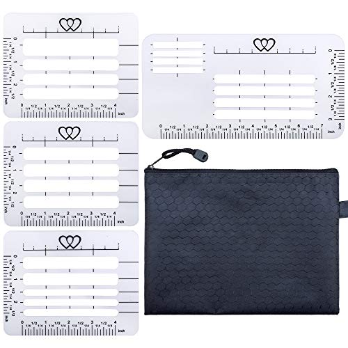 4 Style Envelope Addressing Guide Stencil Templates, Thank You Card, Mother's Day,Pack of 4