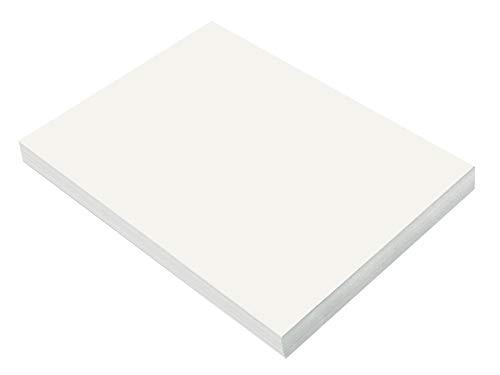 SunWorks Construction Paper, White,  9″ x 12″, 100 Sheets