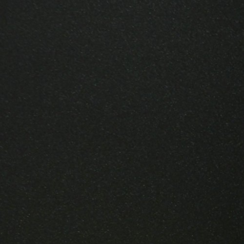 TooMeeCrafts 12-inch by12-Inch Glitter Cardstock, Black Color,Pack of 10 Black