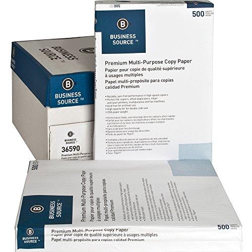 Business Source Premium Multipurpose Copy Paper, Ledger/Tabloid 36590