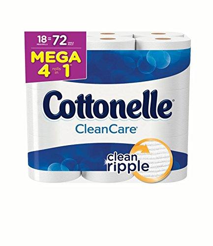 Cottonelle Clean Care Toilet Paper, 18 Mega Rolls