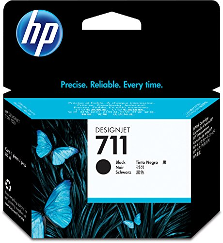 HP 711 80-ml Black Designjet Ink Cartridge CZ133A for HP DesignJet T120 24-in Printer HP DesignJet T520 24-in Printer HP DesignJet T520 36-in PrinterHP DesignJet printheads help you respond quickly by providing quality speed and easy hassle-free printing