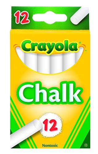 Crayola White Chalk 12 each 51-0320