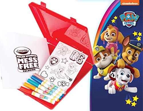 Crayola Color Wonder, Paw Patrol Coloring Book, Travel Coloring Kit, Easter Basket Stuffers, Gift for Kids 3, 4, 5, 6