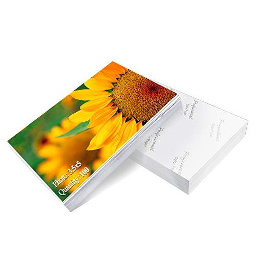 Photo Paper 3.5×5 inch High Glossy Paper 100 Sheets