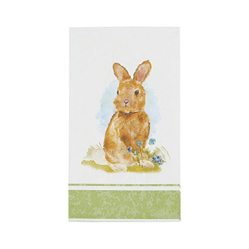 Print Tableware – Party Supplies – 16 Pieces – Easter – Fun Express – Print Napkins – Vintage Easter Dinner Napkin for Easter