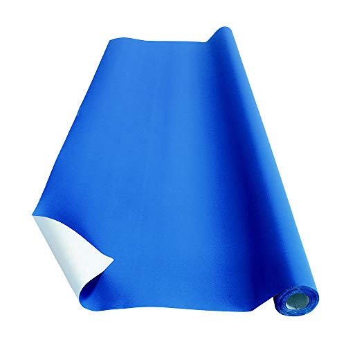Colorations Fade-Resistant Paper Roll Blue for Classrooms and Bulletin Board Decorations 48″ x 60′ Item # RESISTBL
