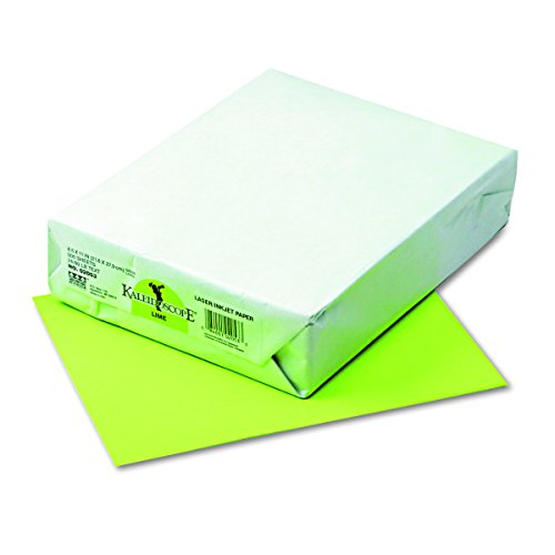 Kaleidoscope Multi-Purpose Paper, 8.5 x 11 Inches, Lime, 500 Sheets 102053