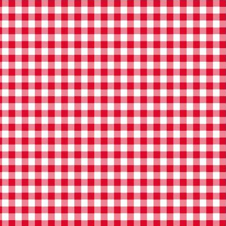 Disposable Red and White Gingham Paper Napkins Pack of 50