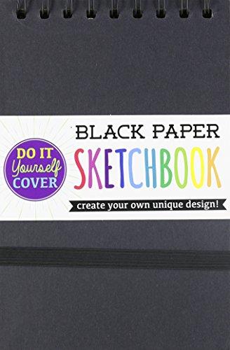 Ooly DIY Sketchbook, Small – Black