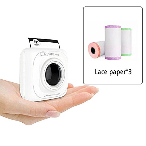Glossy Printable Sticker Paper Roll -White Direct Thermal