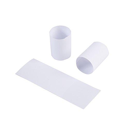 Gmark Paper Napkin Band Box of 2500 White, Paper Napkin Rings self Adhesive GM1055