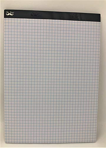 Mr. Pen- Graph Paper, Grid Paper, 4×4 4 Squares per inch, 8.5″x11″, 60 Sheet Papers, Drafting Paper, Squared Paper, Blueprint Paper, Architectural Paper, Computatin Pad, Quadrille Writing Paper, Pad